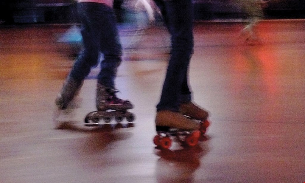 Product image for Roll 'R' Way Family Skating Center-Chambersburg $18.50 For A 3-Hour Skate Package For 4 Including Skates (Reg.$37)