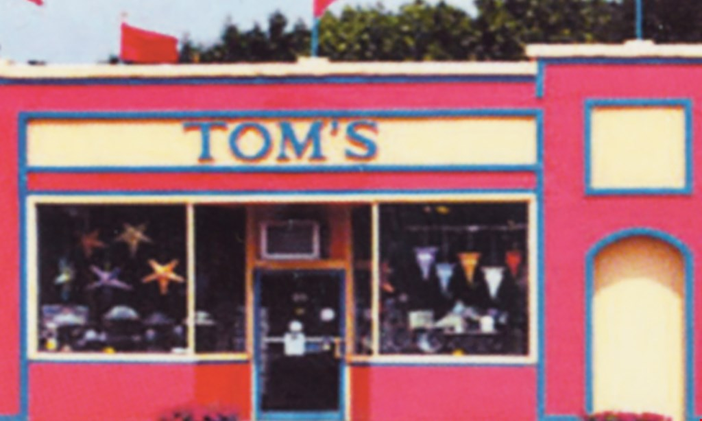 Product image for Tom's Coffee, Cards & Gifts $25 For $50 Worth Of Cards, Gifts & More