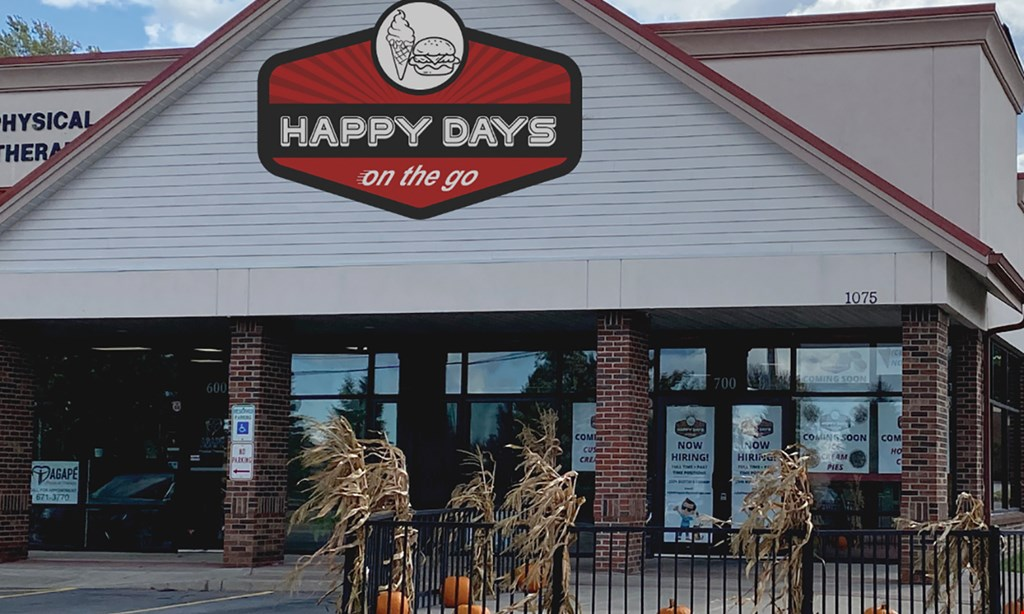 Product image for Happy Days On The Go - Webster $10 For $20 Worth Of Casual Dining