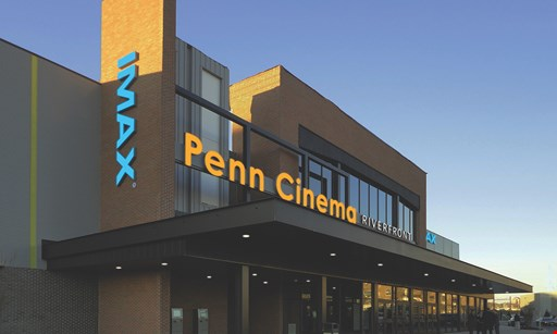 Product image for Penn Cinema Riverfront $12.50 For 2 Adult Admissions (Reg. $25)