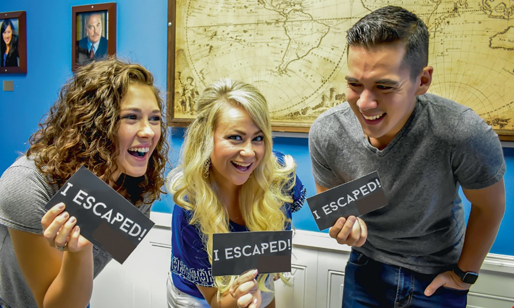 Product image for Escape Room Family $45.98 For A 1-Hour Escape Room Experience For 4 (Reg. $91.96)