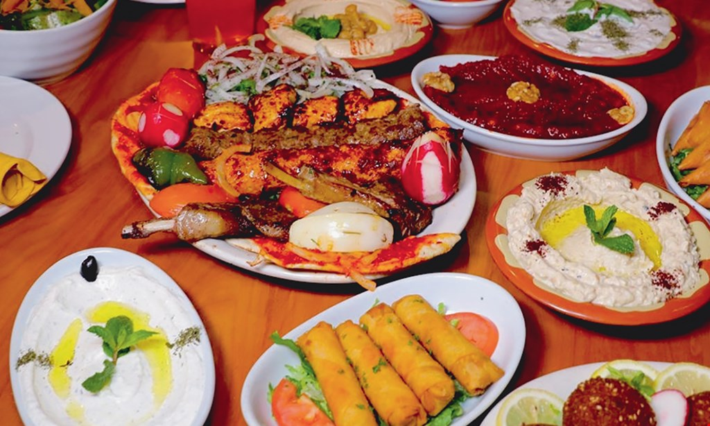 Product image for Kaza Maza Mediterranean Grill and Hookah Lounge $10 For $20 Worth Of Mediterranean Cuisine (Also Valid On Take-Out W/Min. Purchase Of $30)