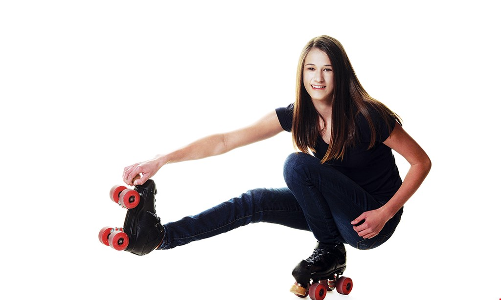 Product image for Beechmont Rollarena $13 For 1 Session Of Open Skating For 2 People With Rental Skates & 2 Soft Drinks (Reg. $26)