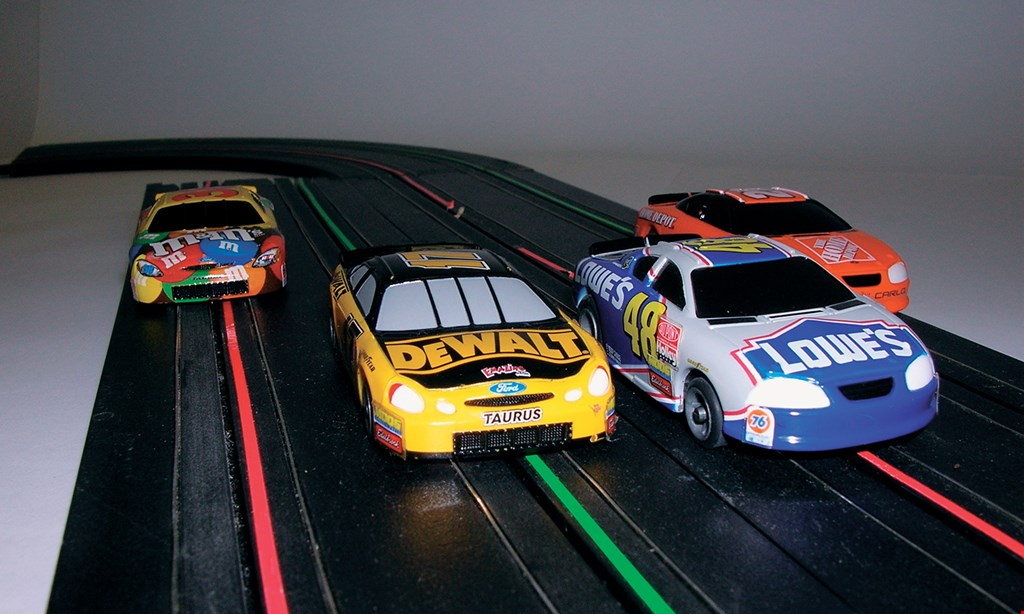 Product image for The Raceway $15 For 30 minutes Of Slot Car Racing For 4 (Reg. $30)