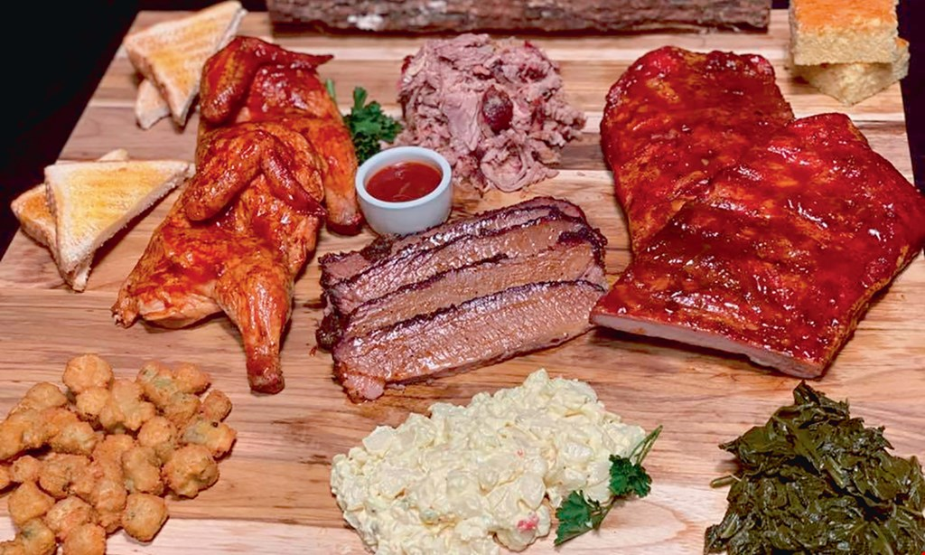 Product image for Smokin' Pig BBQ $10 For $20 Worth Of Casual Dining (Also Valid On Take-Out W/Min. Purchase Of $30)