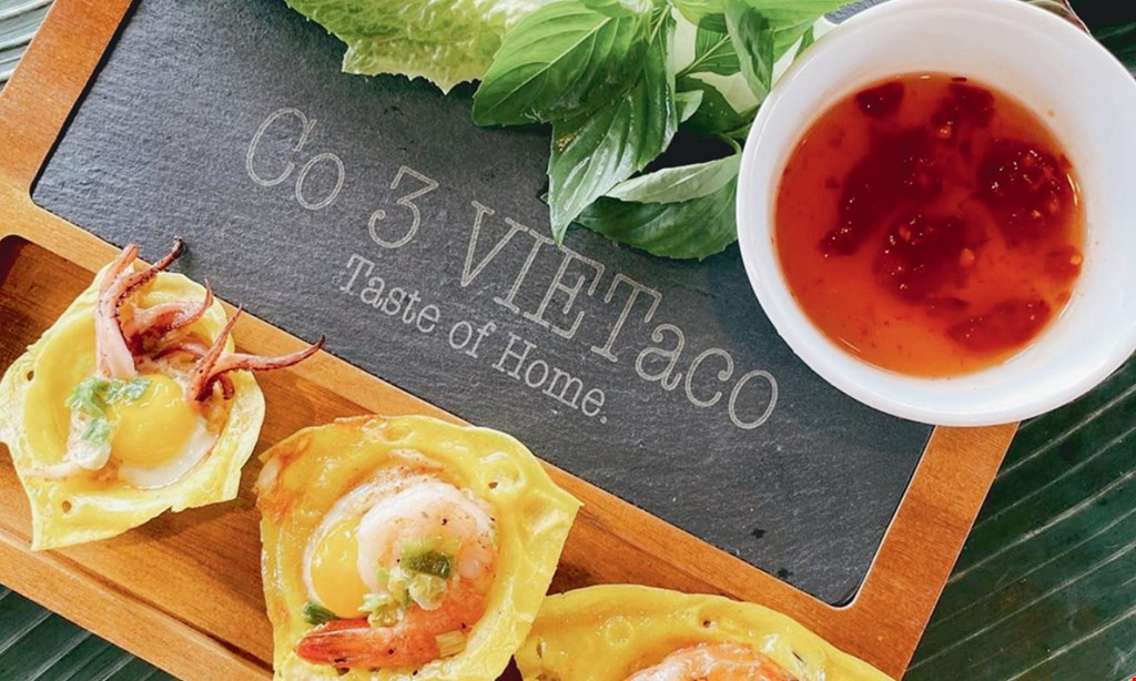 Product image for Co3 VIETaco $15 For $30 Worth Of Vietnamese Cuisine