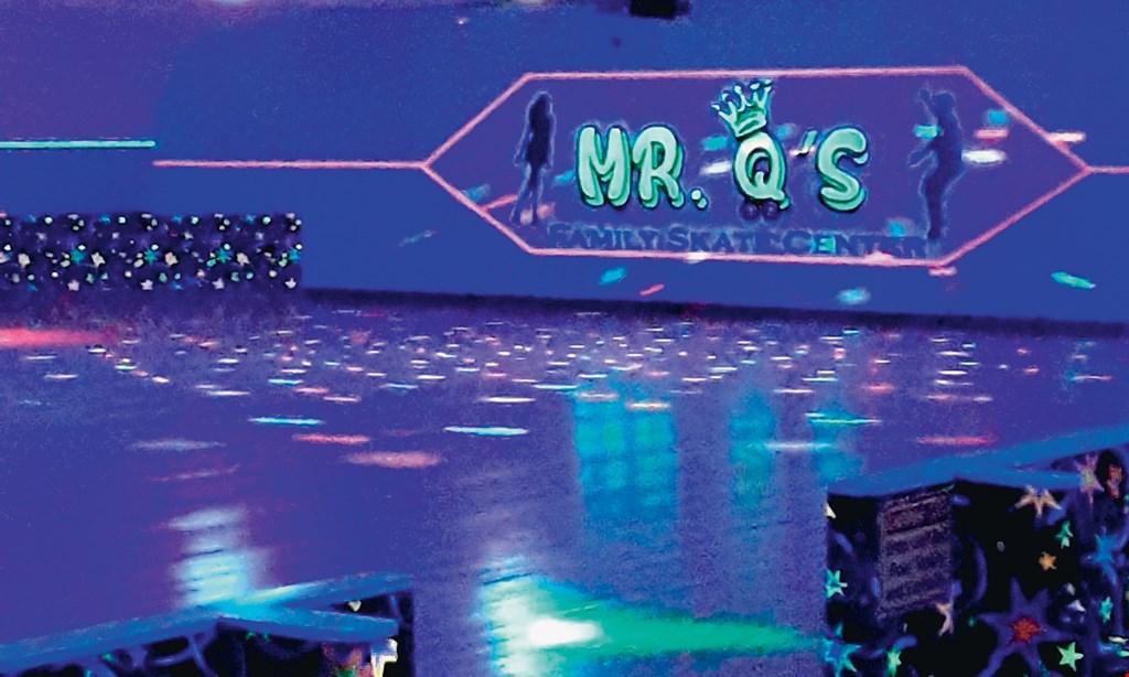 Product image for Mr. Q's Family Skate Center $18 For A 3-Hour Skate Package For 4 Including Skates (Reg.$36)