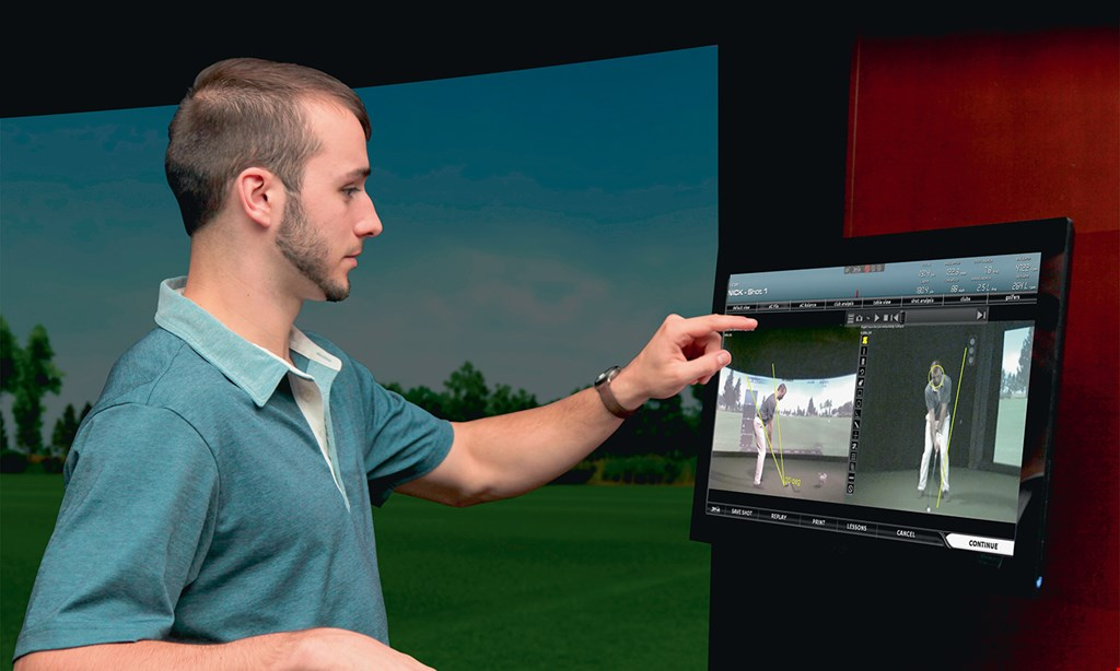 Product image for Route Fore Golf $32 For A 2-Hour Golf Simulator Session (Reg $64)