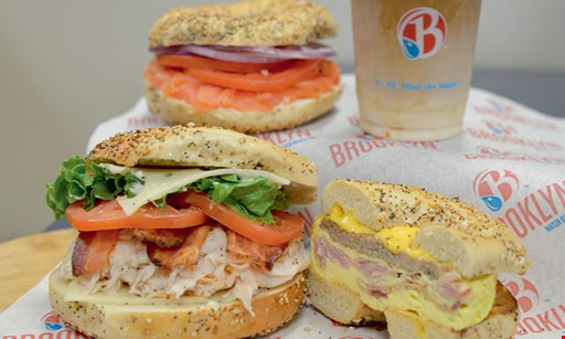 Product image for Brooklyn Water Bagels East Boca $10 For $20 Worth Of Casual Dining