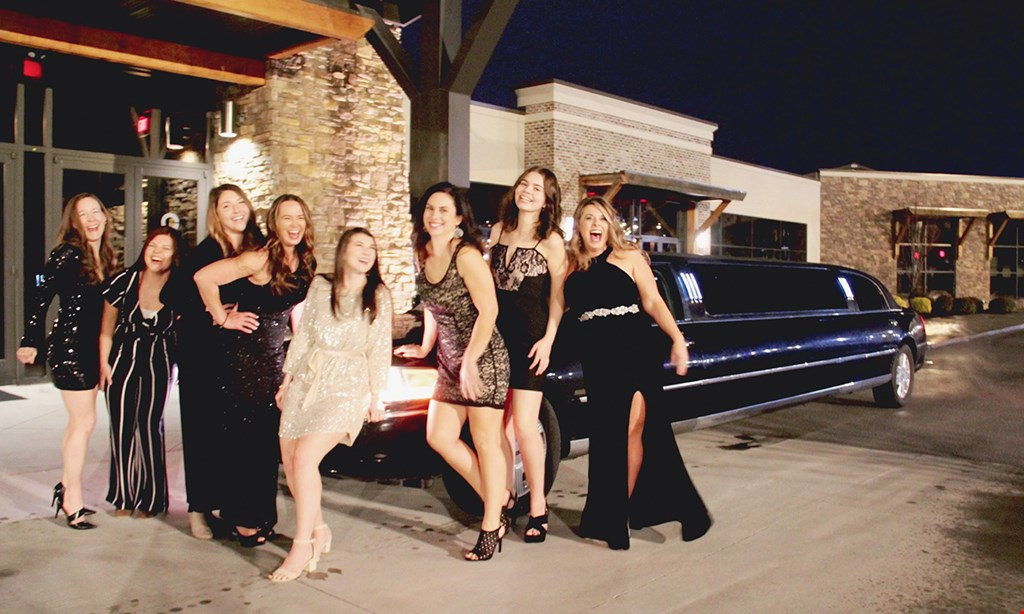 Product image for Executive Limousine & Shuttle Service $140 For A 2-Hour Limo Ride For Up To 8 People For Your Choice Of Birthday Party, Ladies' Brunch, Brewery Tour Or 2 Hours Of Your Choice (Reg. $280)