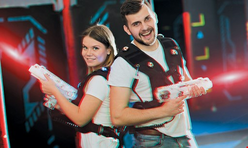 Product image for Idle Hours Entertainment $20 For 2 Laser Tag Games For 2 People & A $15 Arcade Card (Reg. $41)