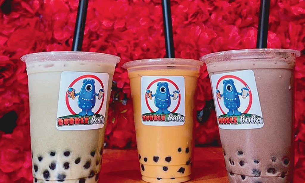 Product image for Bubble Boba $10 for $20 Worth of Boba Tea, Bubble Waffles & More