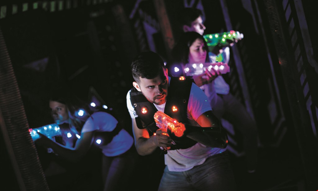 Product image for Adventure Quest Laser Tag $12 for $24 For 2 Games Of Laser Tag For 2 People