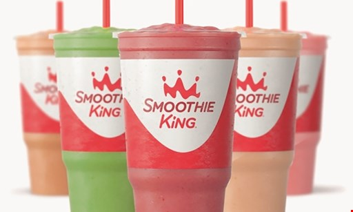 Product image for Smoothie King $10 For $20 Worth Of Smoothies & More