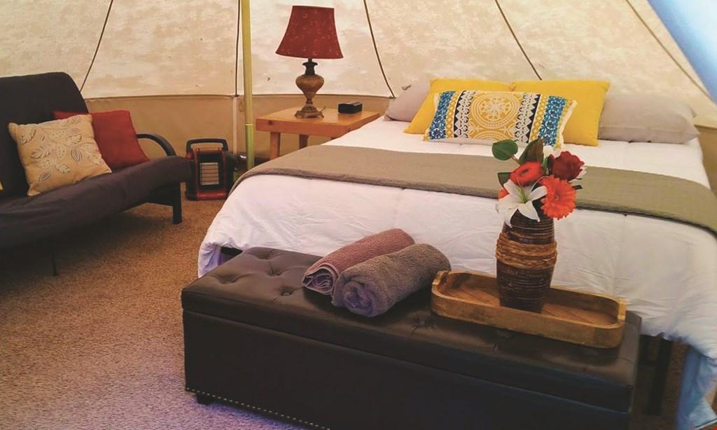 Product image for Adirondack Safari $280 For A 2-Night Luxury Camping Experience (Sunday-Thursday) (Reg. $560)