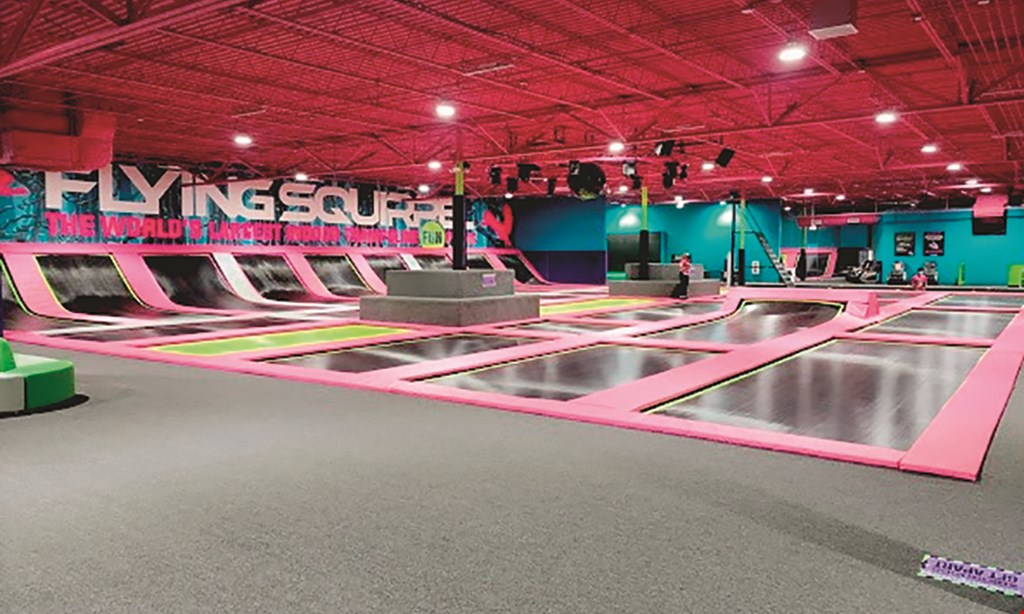 Product image for Flying Squirrel Trampoline Park- Lutz $26 For 2 Hours Of Jump Time For 2 People (Reg. $52)