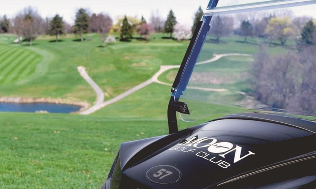 Product image for Moon Golf Club $79.99 For 18 Holes Of Golf For 4 & Cart (Reg. $180)
