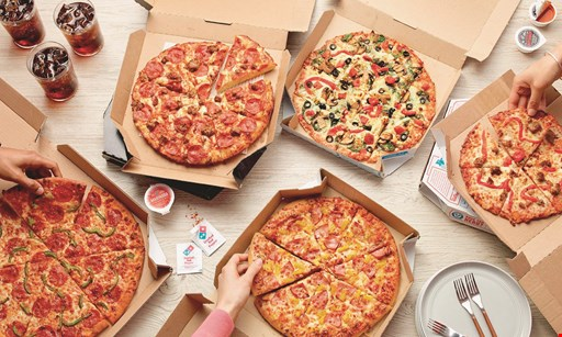 Product image for Domino's Pizza $10 For $20 Worth Of Pizza, Subs & More