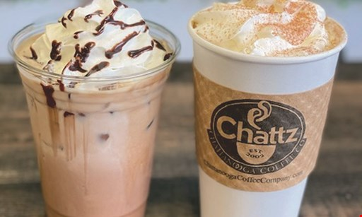 Product image for Chattz Coffee $10 For $20 Worth Of Freshly Roasted Coffee, Lattes & More