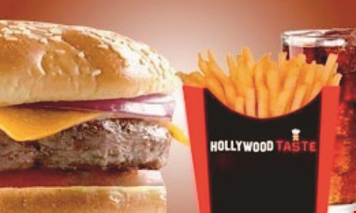 Product image for Hollywood Taste $15 For $30 Worth Of Casual Dining