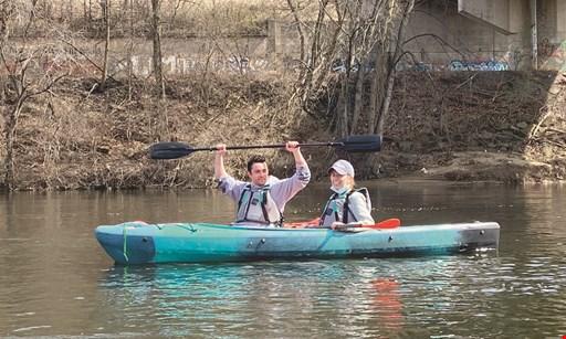 Product image for Historic Bethlehem River Tours $89.99 For The Steel Stacks Run Kayak & Bike Adventure For 2 (Reg. $199.98)