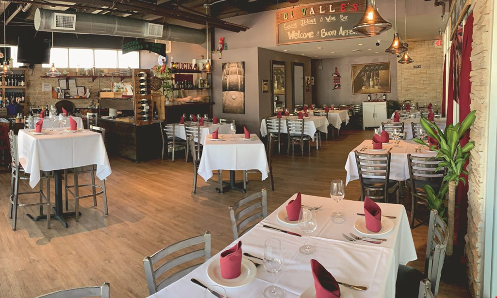 Product image for Di Valle's Cucina Italiana $15 for $30 Worth of Casual Dining