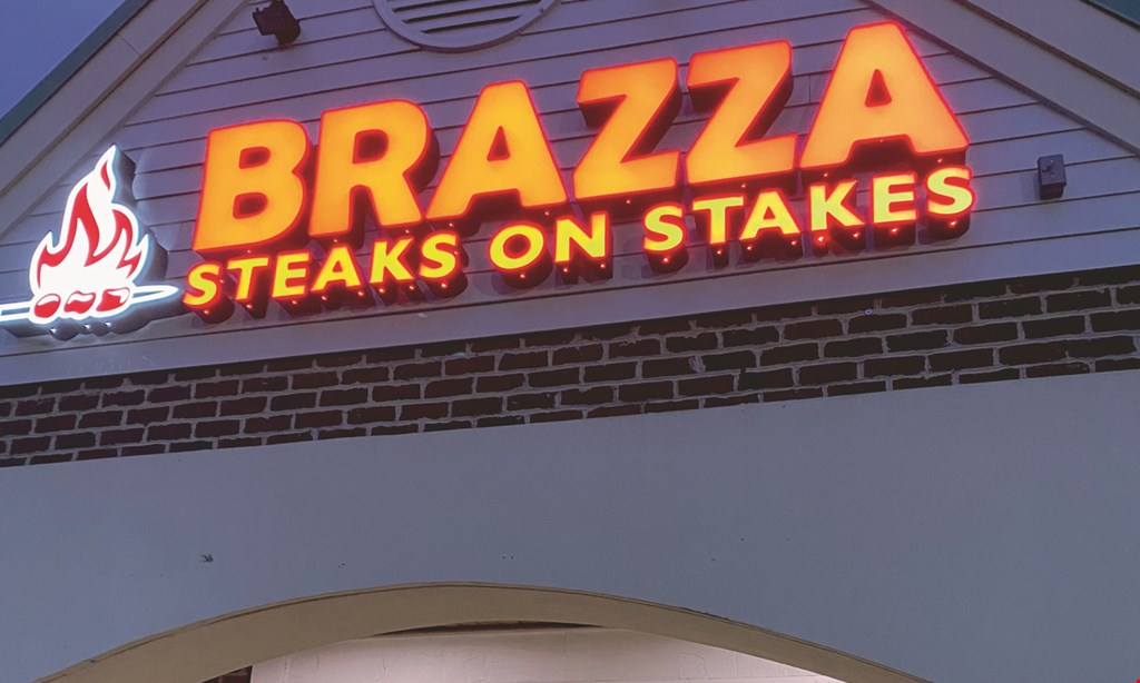 Product image for Brazza Steaks On Stakes $15 For $30 Worth Of Venezuelan Cuisine (Also Valid On Take-Out W/Min Purchase $45)