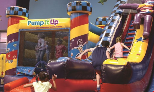 Product image for Pump It Up $30 For 5 Open Jump Passes (Reg. $60)