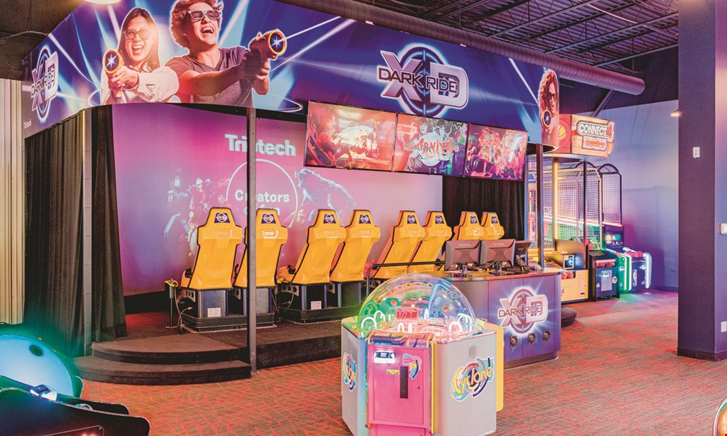 Product image for Fourth Dimension Fun Center $25 For $50 Toward Arcade Fun & Casual Dining