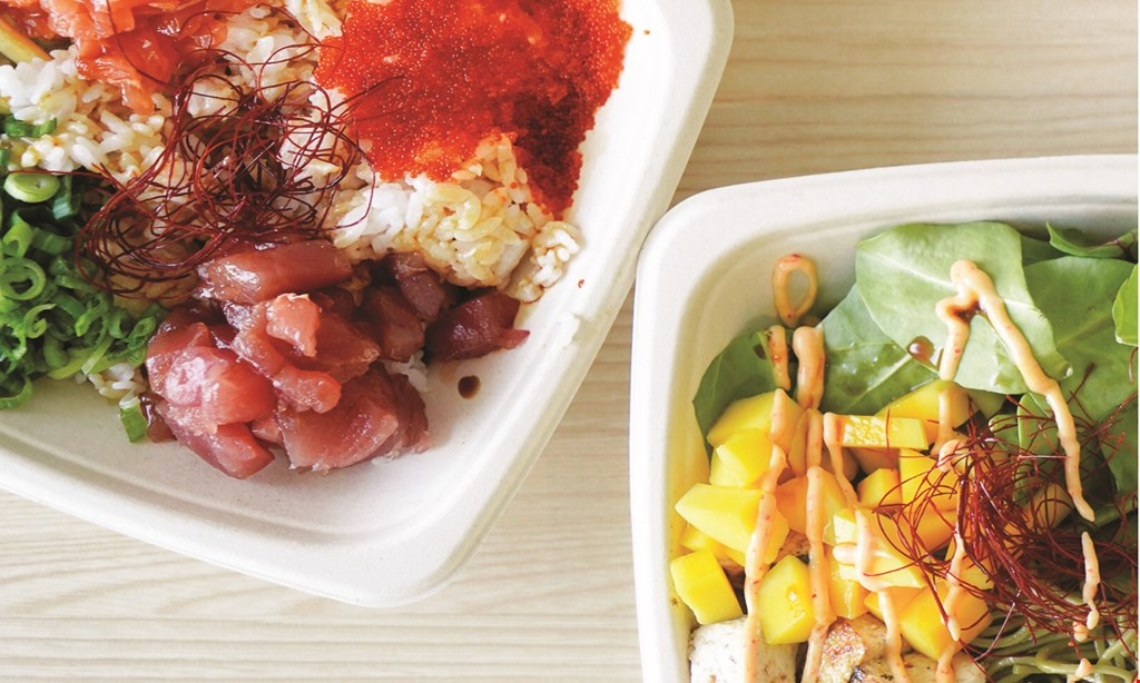 Product image for Poku Poke Shop $10 For $20 Worth Of Poke Bowl Cuisine