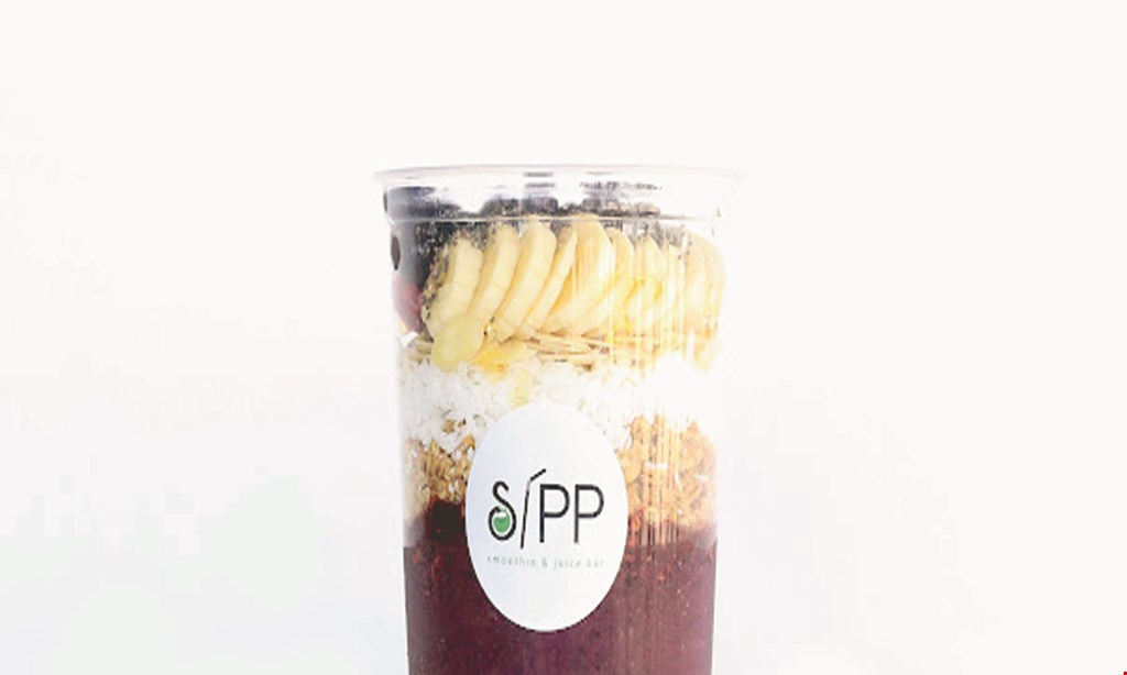 Product image for Sipp Smoothie And Juice Bar $10 For $20 Worth Of Smoothies & More