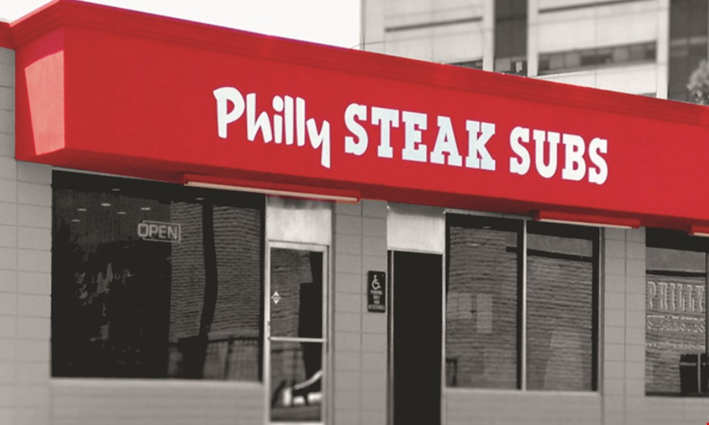 Product image for Philly Steak Subs $10 For $20 Worth Of Casual Dining