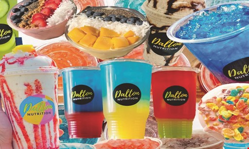 Product image for Dalton Nutrition $10 For $20 Worth Of Shakes & Tea (Purchaser Receives 2-$10 Certificates)