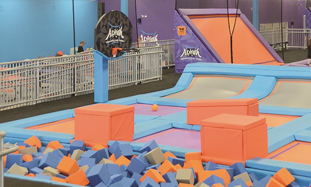 Product image for Altitude Trampoline Park $16.99 For 1 Hour Jump Time For 2 People (Reg. $33.98)