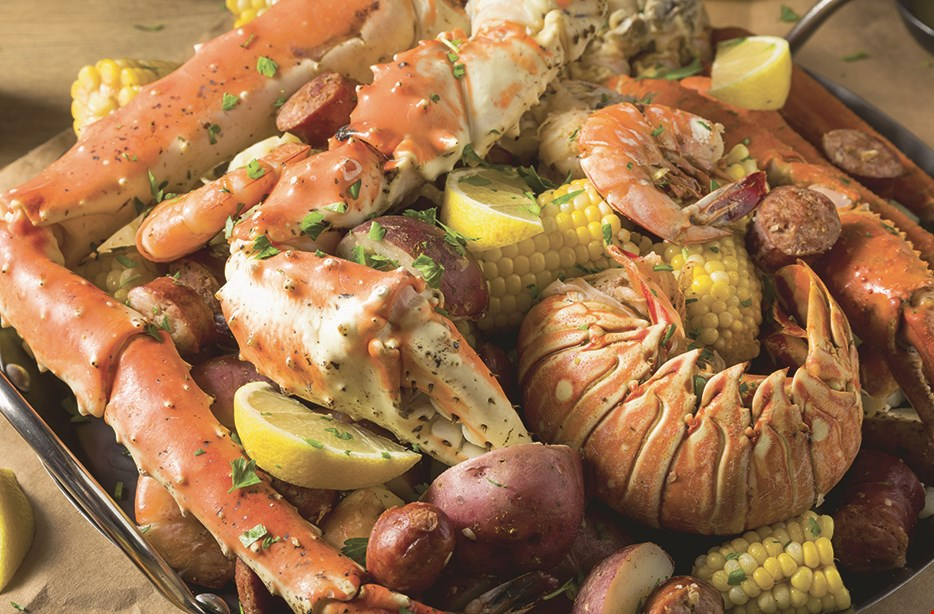Product image for Grab Crab Cajun Seafood $15 For $30 Worth of Seafood Dining