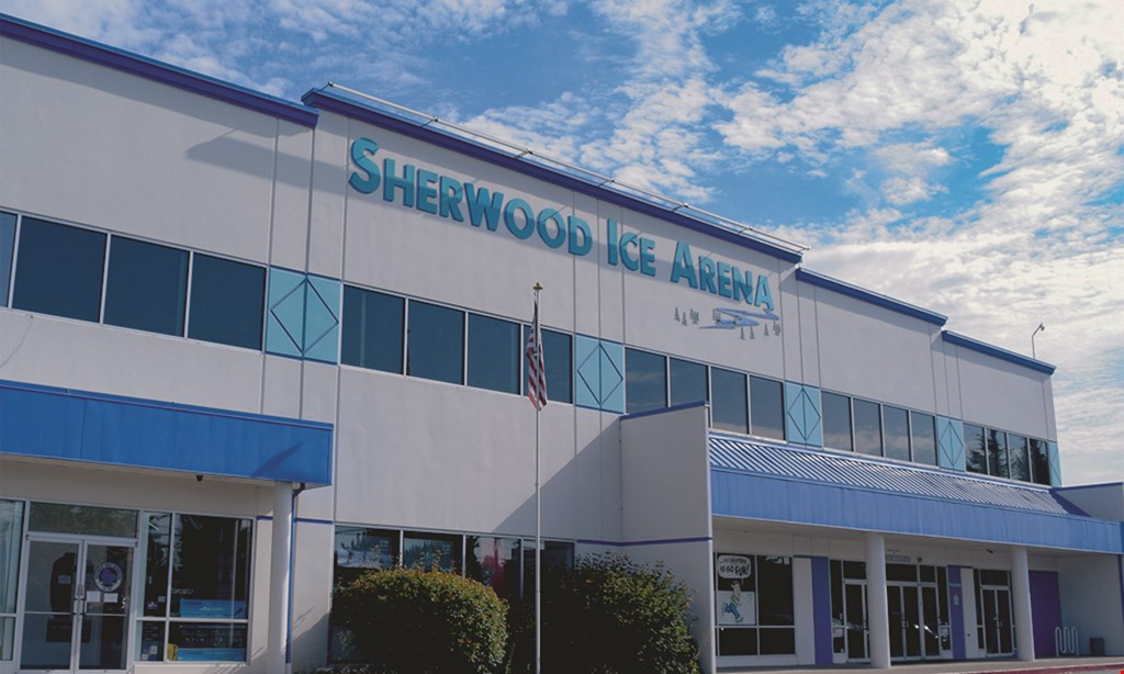 Product image for Sherwood Ice Arena $25 For An Open Skating Session & Skate Rental For 2 (Reg. $50)
