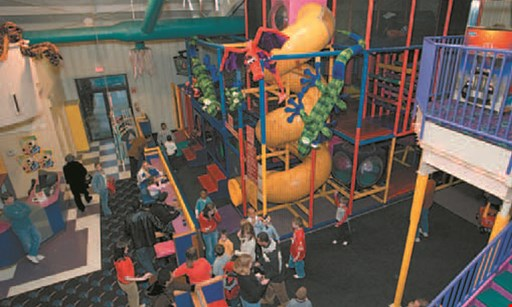 Product image for The Magic Castle $11.90 For Soft Play & Climbing Wall For 4 Children (Reg. $23.80)