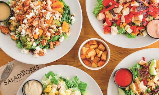 Product image for Saladworks-Southampton $15 For $30 Worth Of Salads & Entrees