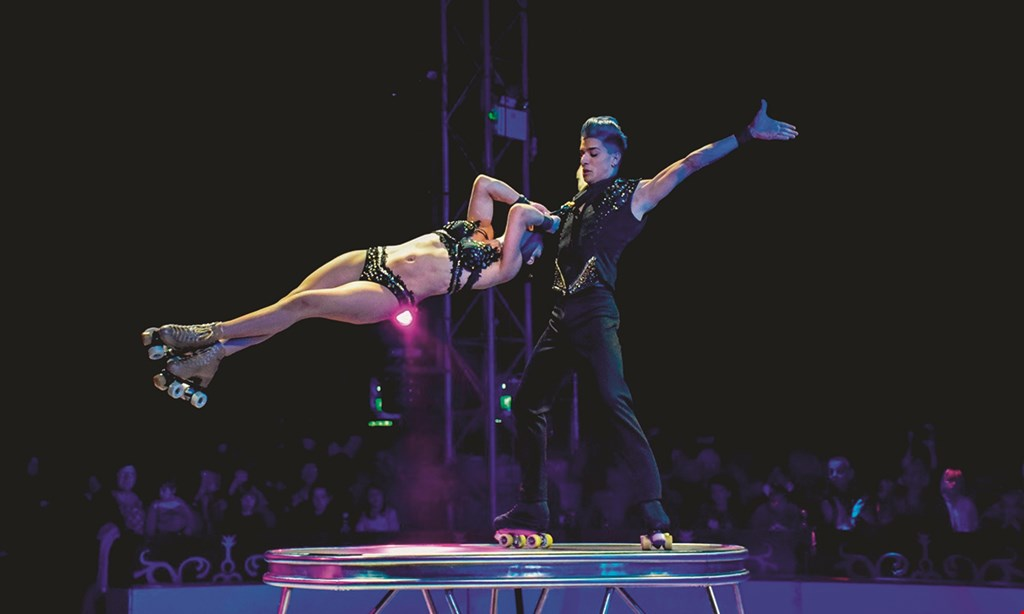 Product image for Tabares Entertainment Dba Circus Vargas Ontario $19 For A Side Arena Ticket (Reg. $38) Valid Sept 30-Oct 11, 2021 No Performances Oct 5, 2021