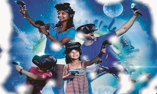 Product image for Hyperspace Gaming $15 For 15 Minutes Of Virtual Reality Gaming For 2 People (Reg. $30)
