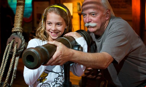 Product image for Pirate & Treasure $15 for 2 Admission Tickets to The St. Augustine Pirate & Treasure Museum (Reg $30)