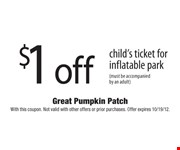 With this coupon. Not valid with other offers or prior purchases. Offer expires 10/19/12.