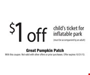 With this coupon. Not valid with other offers or prior purchases. Offer expires 10/31/13.