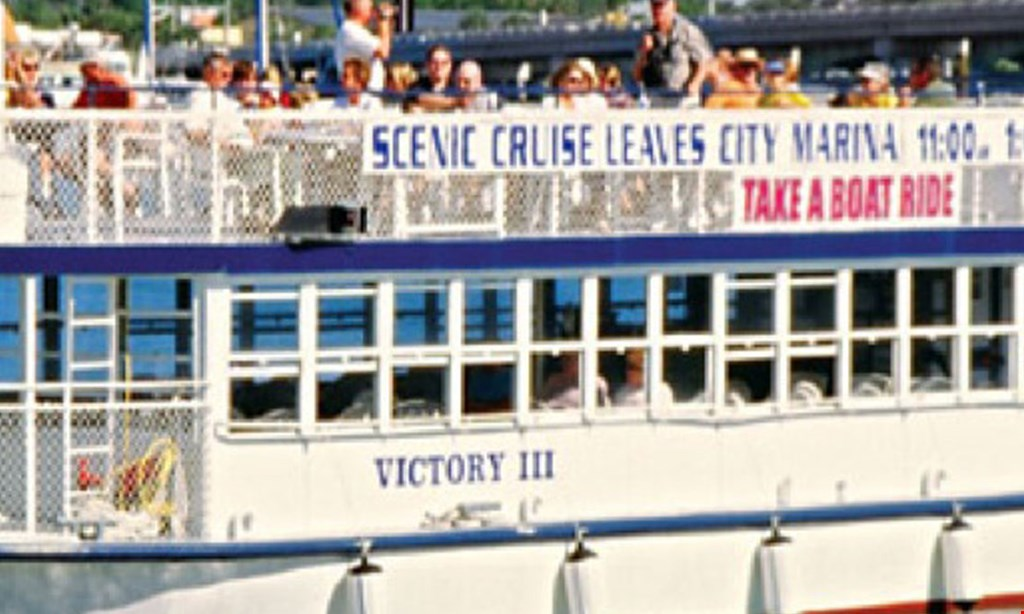 Product image for St. Augustine Scenic Cruise $19 for Two Admissions on The Scenic Cruise of St. Augustine (Reg. $38)