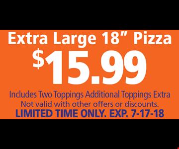 Extra Large 18