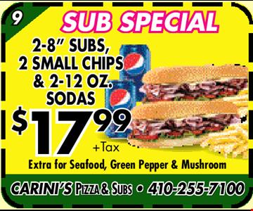 Sub Special. 2-8