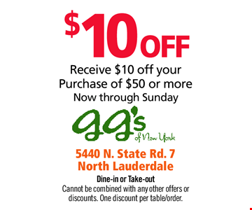 $10 OFF