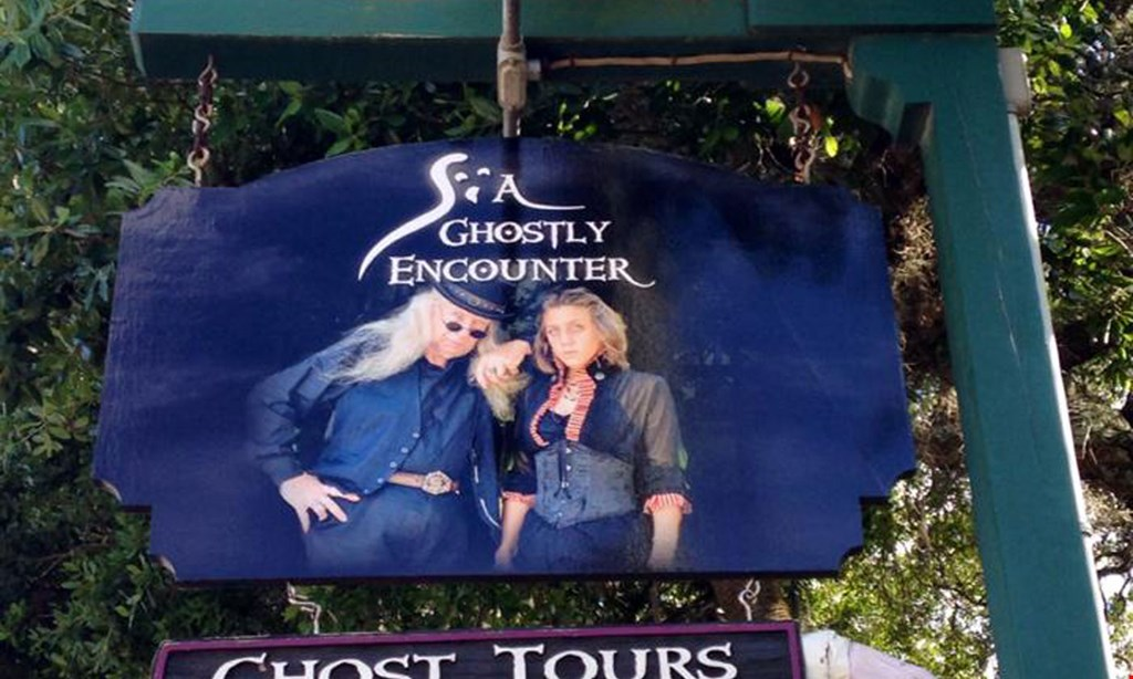 Product image for Ancient City Ghostly Encounter $15 for Two Admissions to The Ghostly Encounter Walking Tour (Reg $30)