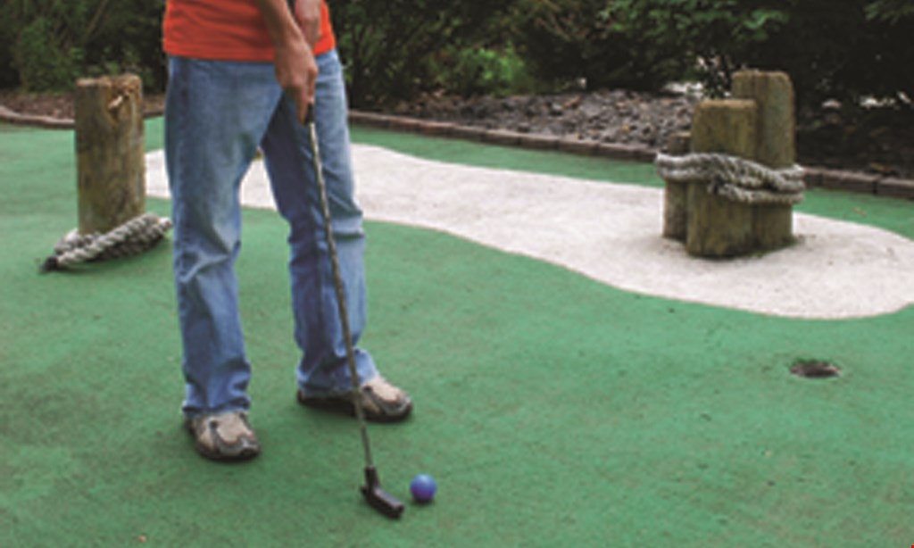 Product image for Lahey Family Fun Park $15 For 4 Rounds Of Miniature Golf (Reg. $30)