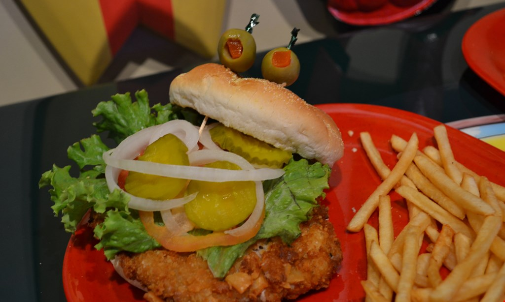 Product image for Red Frog Mctoad's $10 for $20 Worth of New & Traditional American Food & Drinks- Certificate Valid Anytime.